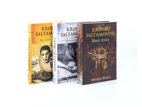 Kroniki Saltamontes. Pakiet Tom I+ Tom II + Tom III.