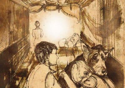 Ilustracja zItomu Kronik Saltamontes