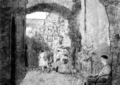 Ilustracja zdrugiego tomu trylogii Moniki Marin - Kroniki Saltamontes