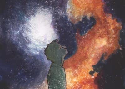 Ilustracja pochodząca zIII tomu Kronik Saltamontes - Nowe życie