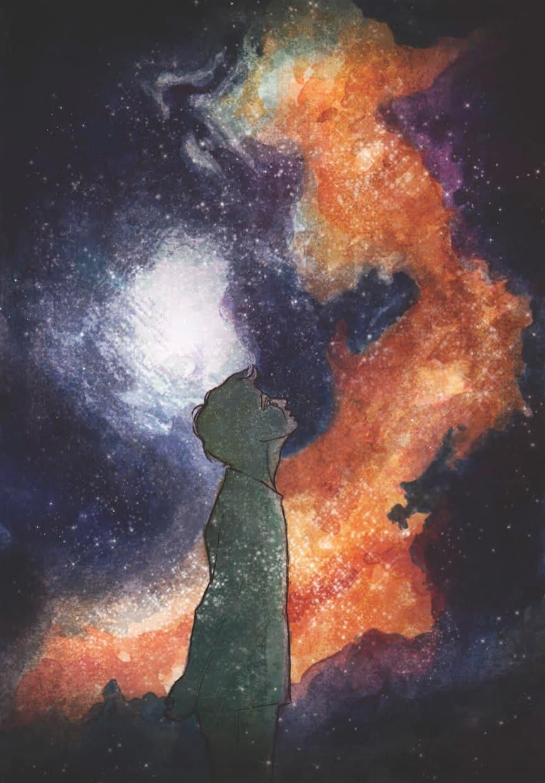 Ilustracja zIII tomu powieści przygodowej dla młodzieży Kroniki Saltamontes